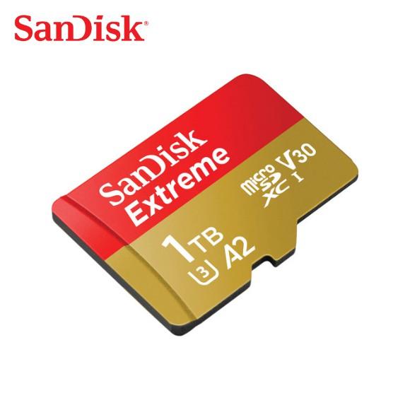 SanDisk Extreme 1TB A2 V3 UHS-I U3 microSDXC 記憶卡 Gopro安卓適用