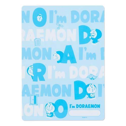 大賀屋 日本製 哆啦A夢 墊板 墊子 寫字墊 印章墊 文具 國小 滑鼠墊 DORAEMON 正版 J00018770