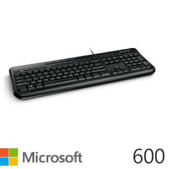 微軟Microsoft 600 標準鍵盤(ANB-00024)