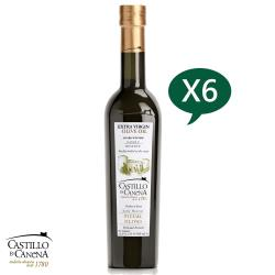 Castillo de Canena卡內納城堡 家族珍藏-皮夸爾品種特級初榨橄欖油500ml*6 (一箱裝)