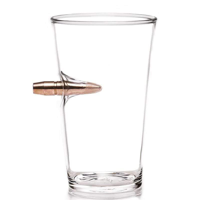 50 Cal BMG子彈手工玻璃啤酒杯