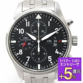 インターナショナル・ウォッチ・カンパニー パイロットウォッチ クロノ 腕時計 ウォッチ ブラック ステンレススチール(SS) IW377704