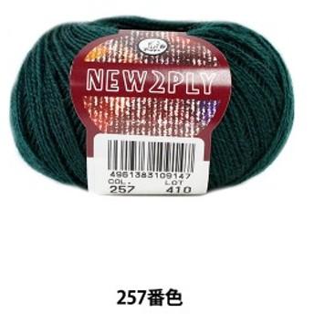 秋冬毛糸 『NEW 2PLY(ニューツープライ) 257番色』 Puppy パピー