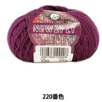 秋冬毛糸 『NEW 2PLY(ニューツープライ) 220番色』 Puppy パピー