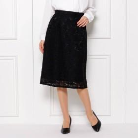 SHOO・LA・RUE(シューラルー)/【S-LLまで】フラワーレースAラインスカート