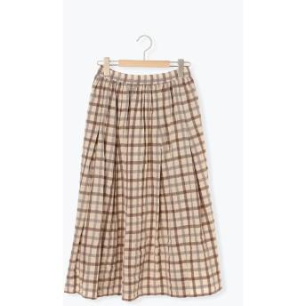 【6,000円(税込)以上のお買物で全国送料無料。】ギャザースカート