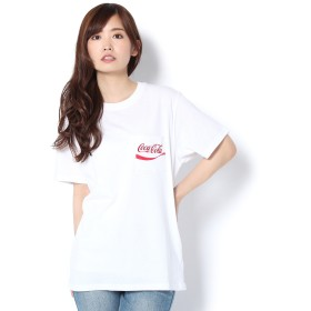Daily russet(デイリーラシット)/コカコーラ×VISION刺繍ポケTシャツ
