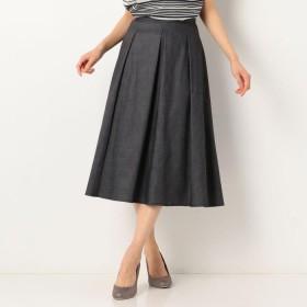 SCAPA(スキャパ)/シャンブレーツイルスカート