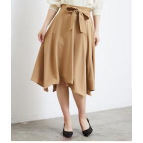 【ROPE' PICNIC:スカート】ランダムヘムスカート