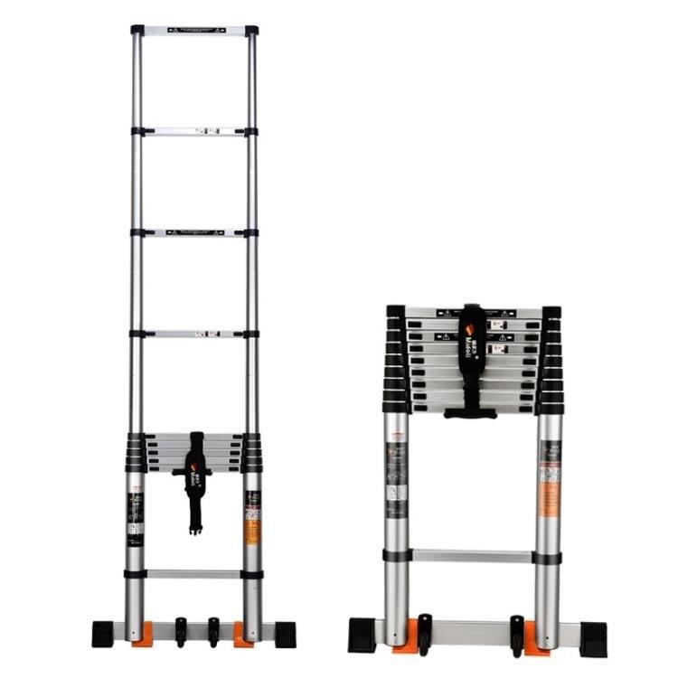 伸縮梯 鎂多力加厚升降鋁合金家用竹節伸縮梯多功能工程樓梯 MKS 全館免運