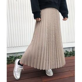 aquagirl(アクアガール)/チェックプリーツスカート
