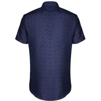 ワイシャツ メンズ, M, ネービー 70 (ビジネス Yシャツ ビジネス シャツ ビジネス 開襟シャツ ビジネス ワイシャツ, ビジネス オーバーシャツ ビジネス トップス ビジネス 長袖 ビジネス 半袖)