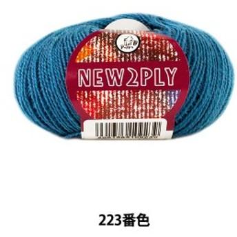 秋冬毛糸 『NEW 2PLY(ニューツープライ) 223番色』 Puppy パピー
