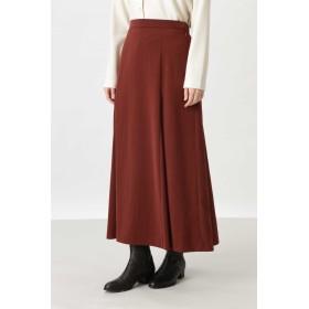 HUMAN WOMAN(ヒューマン ウーマン)/◆起毛サテンスカート