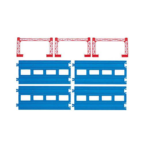 火車軌道配件 R-04 複線直軌 (PLARAIL鐵道王國) 15217