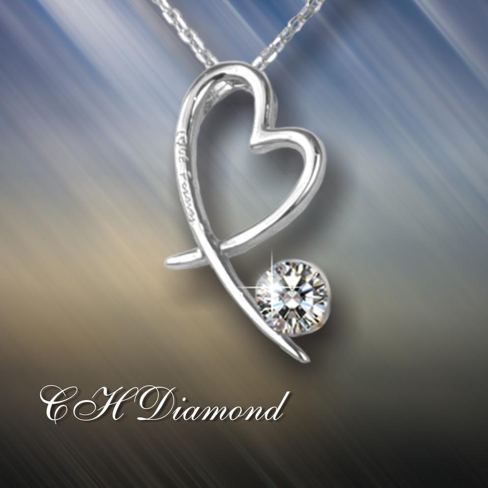 【CH diamond】十分鑽系列 項鍊 (CH10)