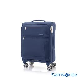 Samsonite新秀麗 20吋Crosslite飛機輪大容量布面TSA登機箱(藍紫色)-AP5*21001