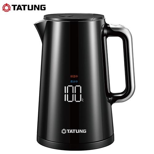 TATUNG大同 1.5L液晶顯溫電茶壺TEK-T15EA【愛買】
