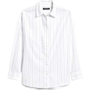 Banana Republic オーバーサイズ ポプリンシャツ