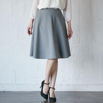 日本製清涼感のあるシャンブレーサーキュラースカート