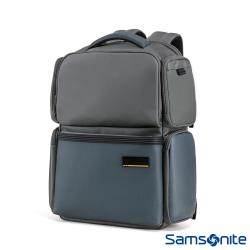 Samsonite新秀麗 Cityscape II多功能防撞拉鍊筆電後背包(灰/藍)-GN3*88001