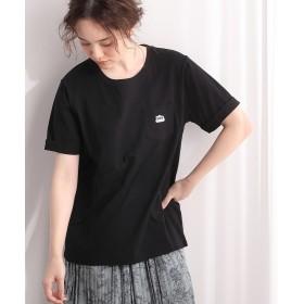 ビス 胸ポケットロゴTシャツ レディース ブラック(01) F 【ViS】