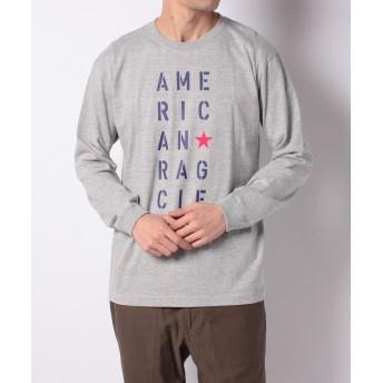 【59%OFF】 アメリカンラグ シー ARCMシャツL/S メンズ グレー 2 【AMERICAN RAG CIE】 【タイムセール開催中】