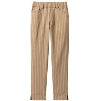 ヨコすごのびアンクル丈パンツ(ゆったりヒップ) (大きいサイズレディース)パンツ, plus size pants, 子, 子