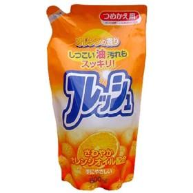 ロケット石鹸 オレンジフレッシュ オレンジオイル配合 詰替用 500mL