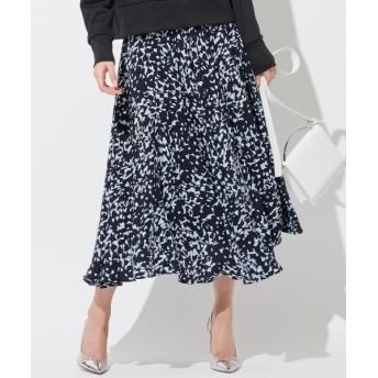 ICB/アイシービー Silhouetto Floral スカート サックスブルー系 4