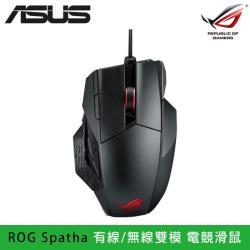 ASUS 華碩|ROG Spatha 有線/無線雙模 電競滑鼠