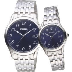 SEIKO 幸福專屬 經典對錶(6N42-00K0B+6N22-00J0B)