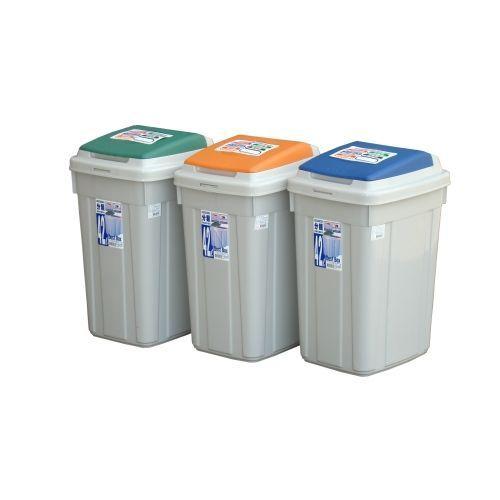 KEYWAY日式分類附蓋垃圾桶CL42【愛買】