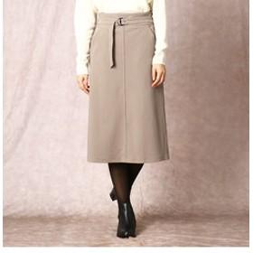 【COMME CA:スカート】コーデュロイ調ハイテンションセミタイトスカート