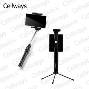 Cellways 酷轉藍牙自拍棒+腳架(18-CWS100)白色