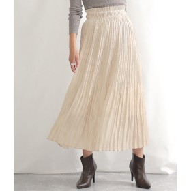 ANAP(アナップ)/シャイニーフィラメントサテンプリーツスカート