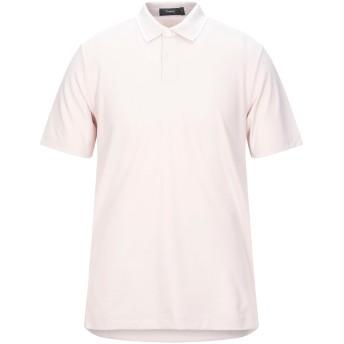 《セール開催中》THEORY メンズ ポロシャツ ライトピンク XS ピマコットン 60% / ポリエステル 40%