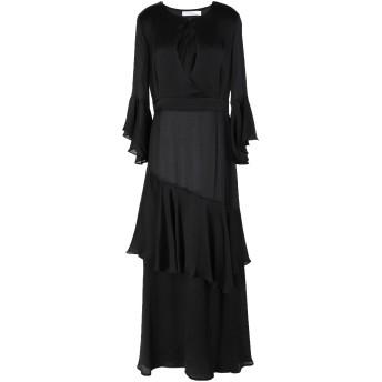 《セール開催中》ANONYME DESIGNERS レディース ロングワンピース&ドレス ブラック XS ポリエステル 100%