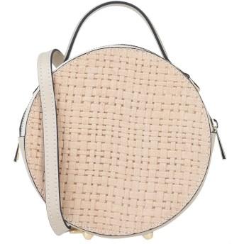 《セール開催中》PELLEDOCA レディース ハンドバッグ ベージュ 革 / 紡績繊維