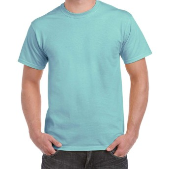 (ギルダン) Gildan メンズ Hammer ヘビーウェイト Tシャツ 半袖 トップス 無地 カットソー (XXL) (チョーキーミント)