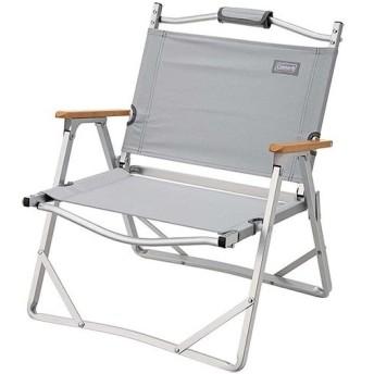 コールマン(Coleman) アウトドア コンパクトフォールディングチェア グレー 2000033561 ローチェア 椅子 イス キャンプ バーベキュー