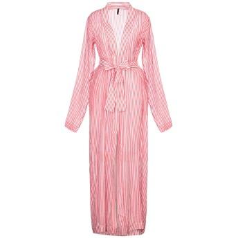 《セール開催中》BEN TAVERNITI UNRAVEL PROJECT レディース ロングワンピース&ドレス レッド S コットン 52% / シルク 48%