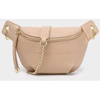 NCCDY 女性のレザーウエストバッグファッションベルトパーク財布の小銭入れフェスティバル・ボムPUバッグのためのファニーパック (Color : Pink)