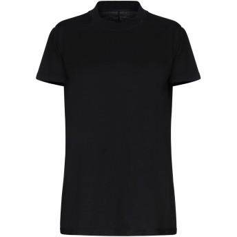 《セール開催中》DRKSHDW by RICK OWENS レディース T シャツ ブラック L コットン 100%