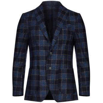 《セール開催中》ALTEA メンズ テーラードジャケット ブルー 48 バージンウール 90% / ナイロン 10%