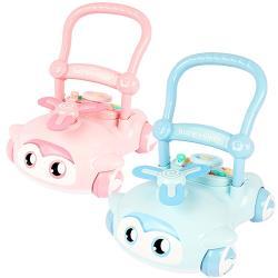 【孩子國】可升降調速益智聲光學步車/助步車(可拆式模擬方向盤玩具)
