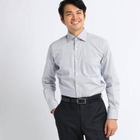 TAKEO KIKUCHI(タケオキクチ:メンズ)/ツイルロンドンストライプ ビジネスシャツ