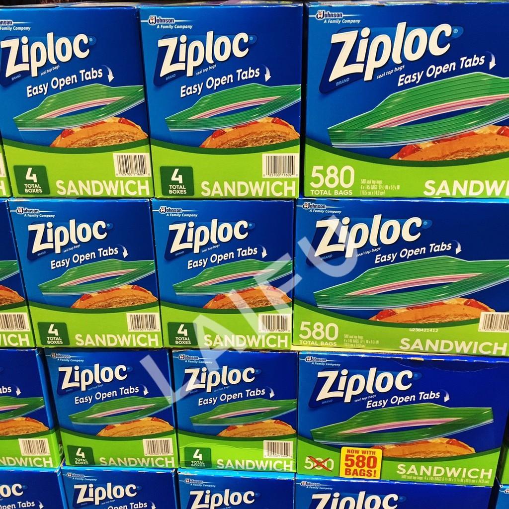 超級便宜 COSTCO ZIPLOC 三明治保鮮袋 好市多代購