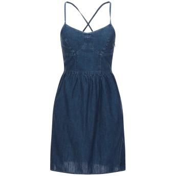 《セール開催中》PEPE JEANS レディース ミニワンピース&ドレス ブルー M コットン 100%