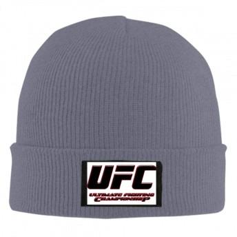 3d UFC 格闘 ニット帽 ニットキャップ 男女兼用 無地 ストレッチ フリーサイズ